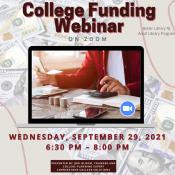 College Funding Webinar
