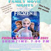 Frozen 2 Movie October 15