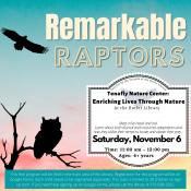 Raptor Program November