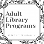Adult Library Programs