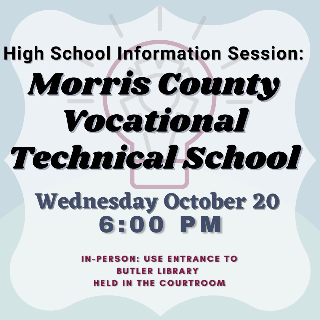 Morris County Vocational School